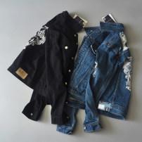 short coat Spring 2017 S,M,L,XL Black, blue