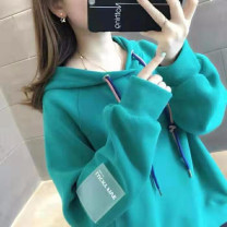 Sweater / sweater Autumn 2020 Eh-710 lake blue sweater [Plush high quality version], eh-710 pink purple sweater [Plush high quality version], eh-710 apricot sweater [Plush high quality version], eh-710 yellow sweater [Plush high quality version], random delivery T-shirt [short sleeve] Long sleeves