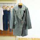 woolen coat Winter 2020 S,M,L,XL Blue, beige other 91% (including) - 95% (excluding)