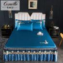 Mat / bamboo mat / rattan mat / straw mat / cowhide mat Mat Kit Cellulose material (regenerated cellulose fiber) Camille 1.5m (5 feet) bed 1.8m (6 feet) bed 1.8 * 2.2m bed 2.0m (6.6 feet) bed