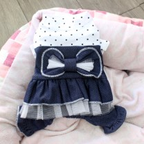 Pet clothing / raincoat currency Four legged clothes XS,S,M,L,XL,XXL Other / other Striped shirt cotton
