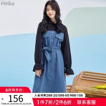 Dress Spring 2021 Spell S M L Middle-skirt 25-29 years old Artka ZA25_ AK016C More than 95% other Other 100%