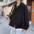 Jacket Other / other Youth fashion Black, grayish blue M,L,XL easy Other leisure spring