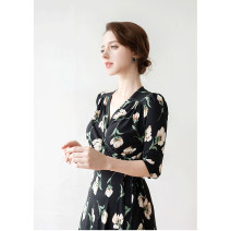 Dress Spring 2021 BK purchasing agent FREE Other / other (AM)LISIANTHUS MAXI WRAP DRESS