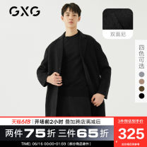 woolen coat Fashion City GXG 174826155-401434 Wool 64.1% polyester 27.2% polyamide 7.5% others 1.2% Woolen cloth Winter 2017 have more cash than can be accounted for standard Other leisure Same model in shopping malls (both online and offline) youth tailored collar Single breasted Basic public other