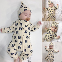 Jumpsuit / climbing suit / Khaki Bella other currency Size 52 suggests newborn, size 59 suggests 0-3 months, size 66 suggests 3-6 months, size 73 suggests 6-12 months, size 80 suggests 1-2 years old, Size 90 suggests 2-3 years old, and size 100 suggests 3-4 years old other spring and autumn nothing
