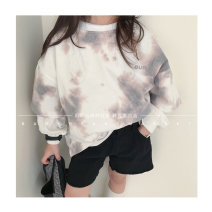 Sweater / sweater Other / other Coffee color, blue, pink neutral S(90cm),M(100cm),L(110cm),XL(120cm),JS(130cm),JM(140cm),JL(150cm),JXL(160cm) spring and autumn nothing Korean version Socket routine There are models in the real shooting cotton Solid color Cotton liner