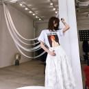skirt Spring 2021 XS (spot), s (spot), m (spot), l (spot) white Mid length dress Versatile Natural waist Fluffy skirt NB-4041 30% and below brocade cotton