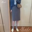 Fashion suit Winter of 2019 S. M, l, XL, one size fits all Fog blue skirt, coffee skirt, blue sweater, khaki sweater, fog blue skirt + blue sweater, coffee skirt + Khaki sweater 18-25 years old Other / other 1601# 31% (inclusive) - 50% (inclusive)