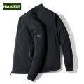 Jacket Jeep shield Business gentleman 165/84A 170/88A 175/92A 180/96A 185/100A 190/104A routine standard Other leisure winter Polyester 100% Long sleeves Wear out stand collar Business Casual middle age routine Zipper placket other other Fall 2017 Embroidery Pure e-commerce (online only) other