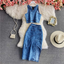 Fashion suit Spring 2021 S,M,L blue 18-25 years old 30% and below
