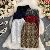 skirt Summer 2021 Average size Short skirt commute Natural waist other Solid color Type A 18-24 years old 30% and below other other Three dimensional decoration