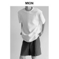 T-shirt Youth fashion White, black thin S,M,L,XL Others Short sleeve Crew neck easy Other leisure summer TX08 teenagers routine Exquisite Korean style 2021 Non brand