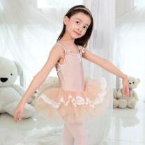 Children's performance clothes Pink Dance Skirt, flesh dance skirt female Size 5 is 90-100cm, size 7 is 100-110cm, size 9 is 110-120cm, size 11 is 120-130cm, size 13 is 130-140cm, size 15 is 140-148cm Other / other Class A Ballet 12, 11, 10, 9, 8, 7, 6, 5, 4, 3