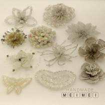 Pearl / diamond / flower and other accessories Coquettish 1 7cm, 2 7cm, 3 5.5cm (silver), 4 6.5cm, 5 7.5cm, 6 6cm, 7 8cm, 8 8cm, 9 8 * 5cm, 10 5.5cm, 11 6 * 4.5cm