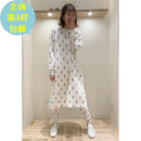 Pajamas / housewear set female Other / other Women's long sleeves + trousers, women's single nightdress, children's long sleeves + trousers s, children's long sleeves + trousers m, children's long sleeves + trousers L Threaded bear cotton