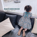 Dress Green flowers, black dots, purple flowers, red love, yellow rabbit female Other / other 90cm,100cm,110cm,120cm,130cm,140cm Other 100% summer princess Short sleeve other other A-line skirt X068 Class B 2 years old, 3 years old, 4 years old, 5 years old, 6 years old, 7 years old, 8 years old