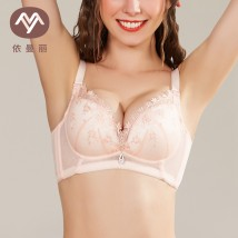 Bras Light yellow honey skin 70A70B70C75A75B75C80A80B80C85A85B85C Detachable shoulder strap Rear four row buckle Wireless  3/4 U-shaped Emmanuel Young women Gather together Thin mould cup No insert Solid color sexy lesbian  DYK6133 summer cotton More than 95% nylon Emmanuel dyk6133 Spring 2017 yes