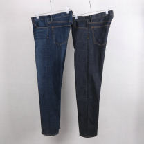Jeans Fashion City Others 32 / 32 waist (2.60ft) length 108, 36 / 30 waist (2.90ft) length 104 Dark blue (washed), primary dark blue (micro washed) thick Micro bomb Cotton elastic denim trousers Other leisure Cotton 93% polyurethane elastic fiber (spandex) 2% others 5% winter High waist Straight foot