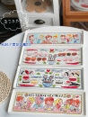 disc porcelain Color in glaze Korean style Rice plate 12 inches 1 other Chinese Mainland