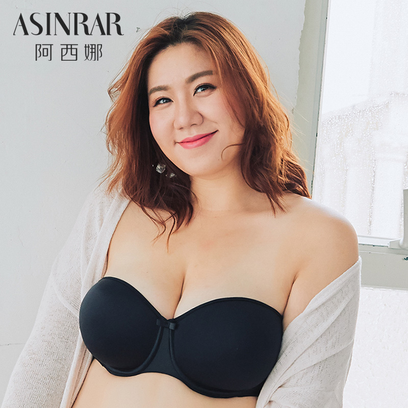 Bras black 100C 100D 85C 85D 85E 90C 90D 90E 95C 95D 95E Detachable shoulder strap Rear three row buckle There are steel rings 1/2 U-shaped Asinrar / Athena Young women Stereotype Thin mould cup No insert Solid color Simplicity AD0046 polyester Asinrar / Athena ad0046