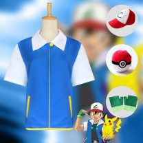 Cosplay men's wear suit goods in stock Cosplay clothing Over 8 years old comic 50. M, s, XL, XXL, one size fits all, customized Japan Magic Baby / Pokemon series Xiaozhi