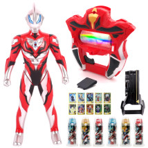 Ultraman toy zone Altman doll Over 3 years old The land of monsters Chinese Mainland Seven hundred and thirty-three Jett Altman shaper luxury suit luxury suit Jett battle 8 monsters Jett shaper suit Jett Altman soft rubber 5 forms yes ≪ 14 years old large