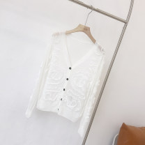 Wool knitwear Spring 2021 XS,S,M,L,XL White-1, black-2 cotton 31% (inclusive) - 50% (inclusive) Caipei