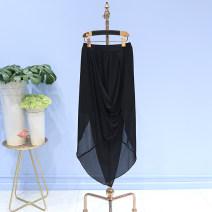 skirt Summer of 2018 XL,L,M,S Black-1