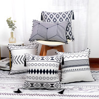 Cushion / pillow blending Cushion cover / pillow cover Geometric pattern PP cotton ethnic style