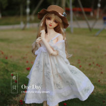 BJD doll zone Dress 1/3 Over 3 years old Customized Light gray, white, shawl 1/3,1/4,1/6