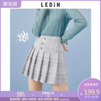 skirt Spring 2021 S M L Blue check (spot) blue check (presale 1) Short skirt Sweet High waist 18-24 years old CWGEB1538 91% (inclusive) - 95% (inclusive) Leting polyester fiber Polyester 93.9% other 6.1% solar system