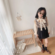 suit Other / other [Stock] Khaki jacquard vest, [Stock] Beige lace shirt, [Stock] black pleated skirt The reference height of tag 5 / 100 is 95-105cm, tag 7 / 110 is 105-115cm, tag 9 / 120 is 115-120cm, tag 11 / 130 is 120-125cm, tag 13 / 140 is 125-135cm, tag 15 / 150 is 135-145cm female routine
