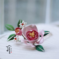 Hair accessories Hair comb 101-200 yuan Other / other brand new Original design Fresh out of the oven Silk yarn Not inlaid