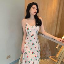 Women's large Summer 2021 Picture color L(100-120),XL(120-140),2XL(140-160),3XL(160-180),4XL(180-200) Dress singleton  commute Socket Sleeveless Korean version polyester