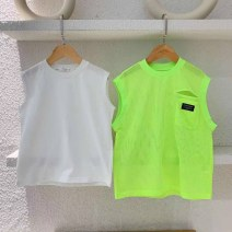 Vest sling As shown in the figure (in stock) Sleeveless Five, seven, nine, eleven, thirteen, fifteen, seventeen, nineteen summer neutral No model motion other Crew neck nothing Cotton 95% other 5%