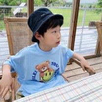 T-shirt Blue (in stock), blue (scheduled) Three bears Castle Five, seven, nine, eleven, thirteen, fifteen, seventeen, nineteen neutral other other Cotton 95% other 5% 2, 3, 4, 5, 6, 7, 8, 9, 10 years old