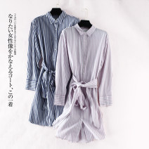 Dress Autumn of 2019 Pink and white, blue and white 160/84A(S),165/88A(M) 8seconds / 8seconds I6535