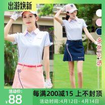 Golf apparel XS,S,M,L,XL female Ttygj (clothing) t-shirt