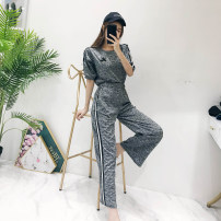 Casual suit Summer of 2018 grey Average size 18-25 years old 062020 Other / other 31% (inclusive) - 50% (inclusive)
