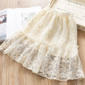 skirt Beige Other / other female Cotton 75% other 25% spring and autumn skirt Korean version Cake skirt cotton Class B