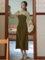 Fashion suit Spring 2021 S,M,L Top + suspender skirt