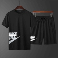 Leisure sports suit summer M,L,XL,2XL,3XL,4XL,5XL Short sleeve Other / other shorts teenagers T-shirt other 2020