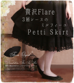 skirt Spring of 2018 1(S—L),2(L—3XL) 68cm is suitable for medium skirt, 86cm is suitable for long skirt