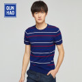 T-shirt / sweater Group Heroes Youth fashion Royal Blue 46 48 50 52 54 routine Socket Crew neck Short sleeve 91627A405 Slim fit Viscose (viscose) 83.6% polyester 16.4% youth other Summer 2020