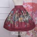 Lolita / soft girl / dress Strawberry witch Black, pink, Burgundy S,M,L,XL Customized