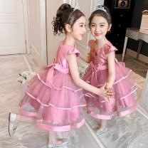 Dress female 100cm,110cm,120cm,130cm,140cm,150cm Other 100% summer princess Skirt / vest Solid color other Princess Dress Class B 18 months, 2 years old, 3 years old, 4 years old, 5 years old, 6 years old, 7 years old, 8 years old, 9 years old, 10 years old, 11 years old, 12 years old