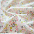 Fabric / fabric / handmade DIY fabric cotton Loose shear piece Plants and flowers printing and dyeing clothing Japan and South Korea cottonvill 100% the republic of korea