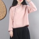 woolen coat Autumn of 2018 M, L polyester 95% and above have cash less than that is registered in the accounts Long sleeves commute Single breasted routine stand collar Solid color Straight cylinder Retro 25-29 years old