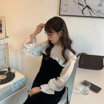 Dress Spring 2021 Average size Mid length dress singleton  Long sleeves commute High waist other other Others 18-24 years old Type A Korean version 30% and below other other